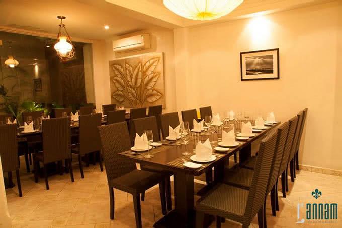 nhà hàng L'annam buffet 177 bùi thị xuân 7