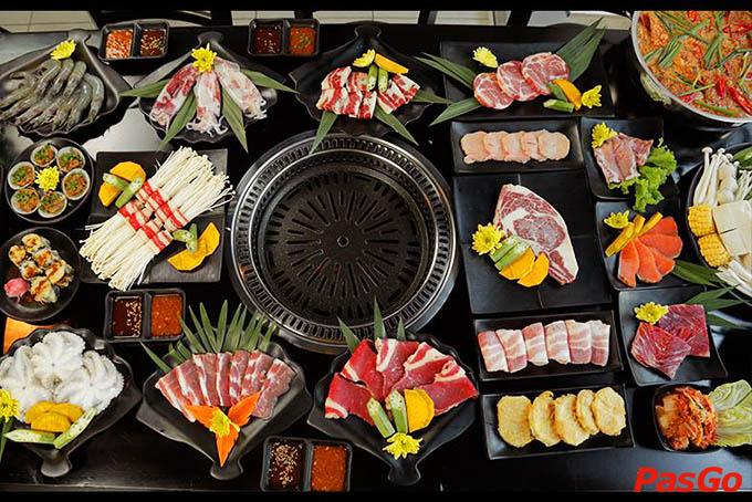 Review nhà hàng Lẩu Nướng Seoul BBQ 1