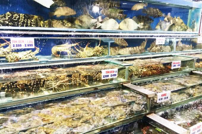 vựa hải sản biển đông trần quốc toản 22