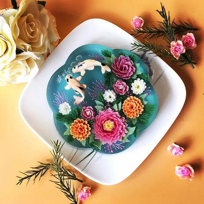 25+ mẫu bánh sinh nhật rau câu đẹp mắt và 4 cách làm tại nhà