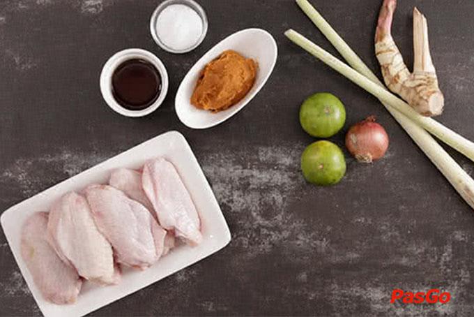 cách làm món cánh gà tomyum 1