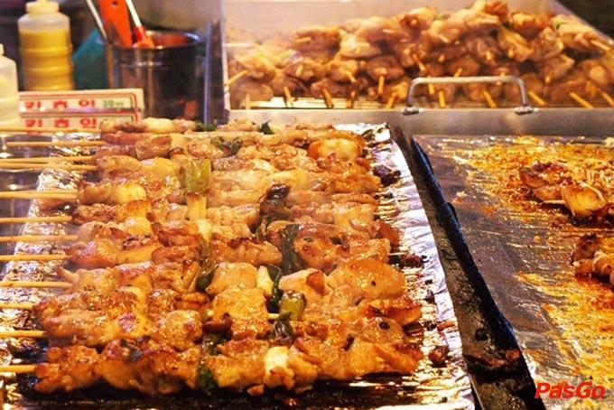 Những món ăn Hàn Quốc nổi tiếng làm từ thịt gà 1