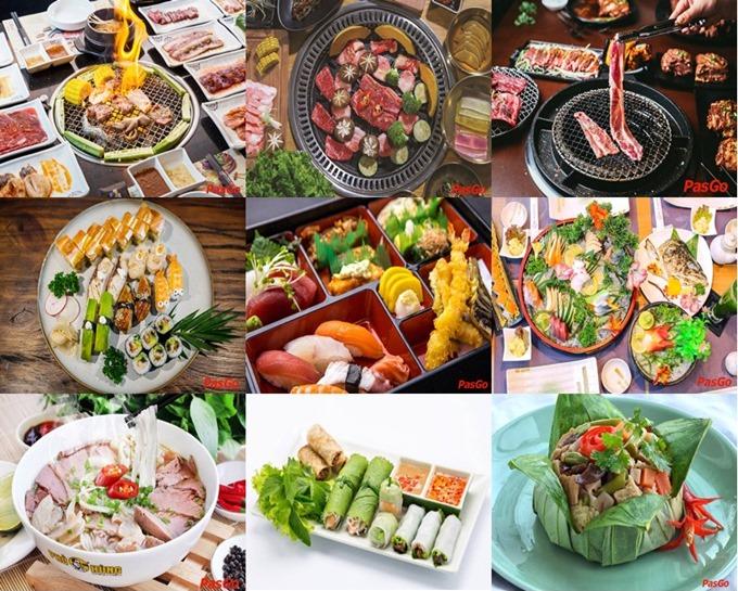 Image result for Khu ẩm thực Hàn Quốc ở quận Tân Bình, quận 7, 1