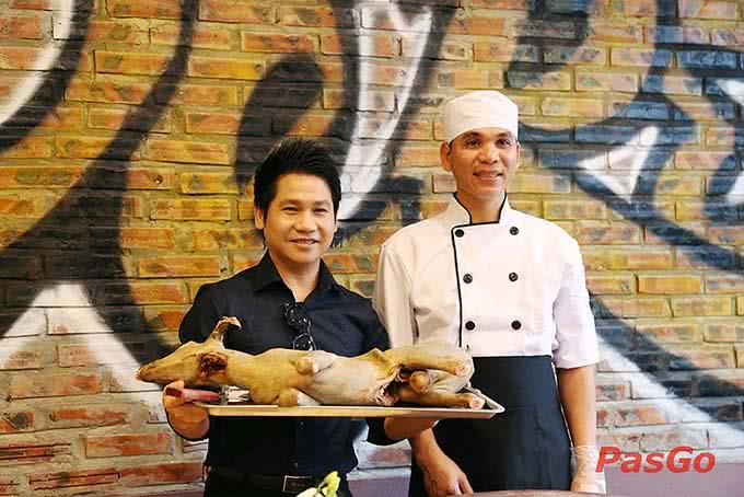 review nhà hàng Dê Ré Song Dương 2