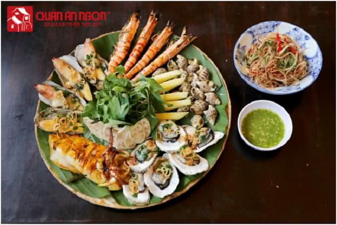 Cá lóc hấp bầu - quán ăn ngon Phan Bội Châu