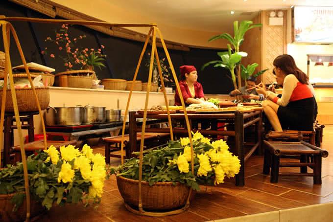 Nét hồn quê giữa lòng phố thị - Nhà hàng ngọc mai vàng