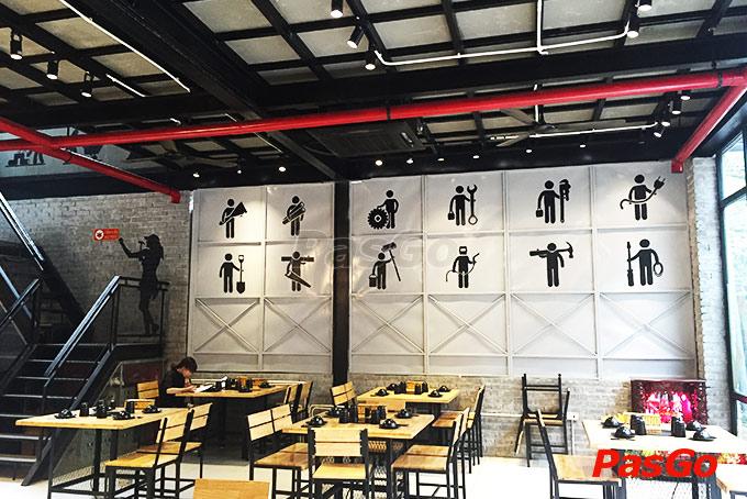 nhà hàng hotpot construction dịnh vọng 19