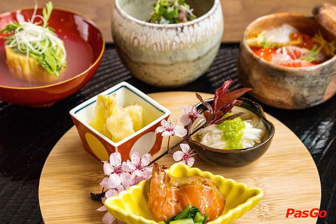 Ẩm thực Nhật Bản theo mùa và sushi là một đại diện điển hình 2