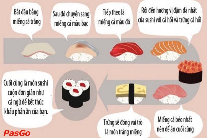 Cách ăn sushi chuẩn không phải ai cũng biết 2