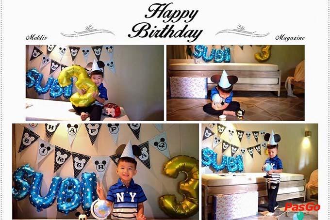 Cách trang trí sinh nhật cho bé trai tại nhà 1