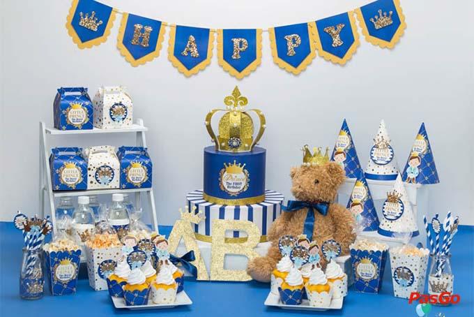 Cách trang trí sinh nhật cho bé trai tại nhà 2