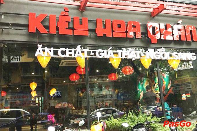 Nhà hàng Kiều Hoa Quán Tô Hiệu 21