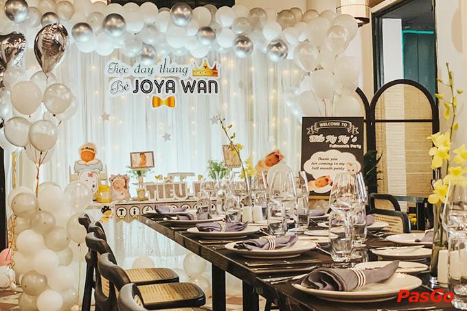 Nên đặt tiệc nhà hàng tổ chức sinh nhật cho bé hay tổ chức ở nhà 1