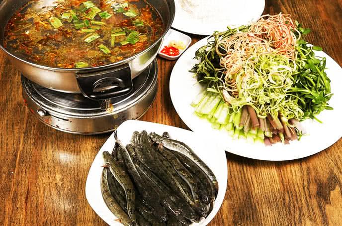 Lẩu cá kèo lá giang - quán ăn ngon Phan Bội Châu