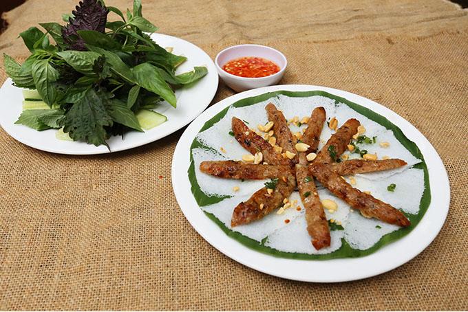 Bánh hỏi nem nướng quán ăn ngon 18 phan bội châu