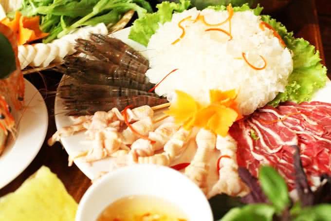 lẩu thập cẩm quán ăn ngon 18 phan bội châu