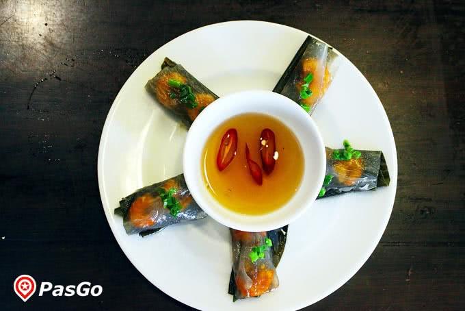Bánh bội lọc của quán ăn ngon Phan Bội Châu