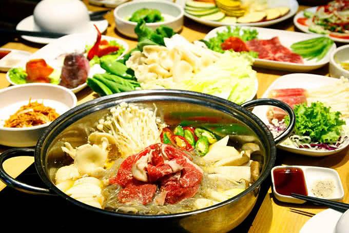 nhà hàng buffet lẩu nướng sariwon big c 21