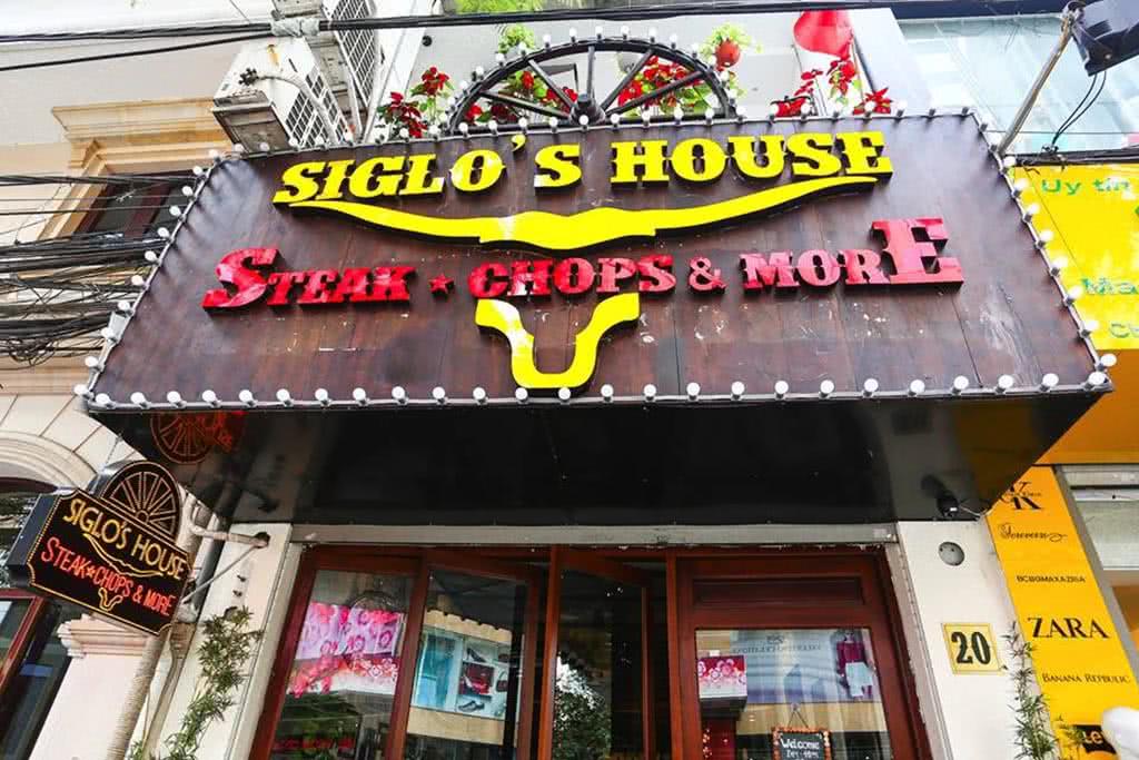 Nhà Hàng Siglo's House 20 Đoàn Trần Nghiệp không gian