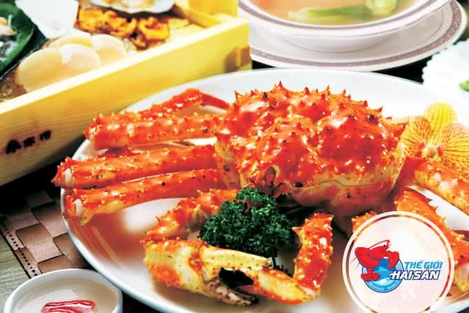 Tôm alaska xốt thế giới hải sản trần hưng đạo